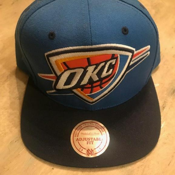 NBA OKC Oklahoma snapback fitted hat. M 5b5f22ba409c15bc5821c738 bb1259233